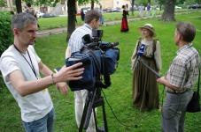 Интервью для ТВ 1 канал