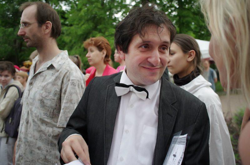 Дмитрий Тейбер-Лебедев - режиссер праздника День Фехтовальщика