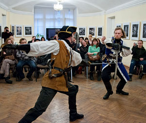 Фотография из газеты «СПб ведомости», статья А.Жабского