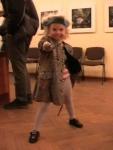 Очаровательная Настя, дочь известного фехтовальщика-спортсмена Кирилла Кандата.