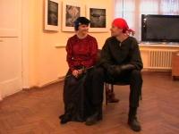 Отдых перед боем. Юлия и Виталий Федоровы