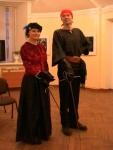 Юлия и Виталий Федоровы, фехтовальщики из клуба Парад-Рипост