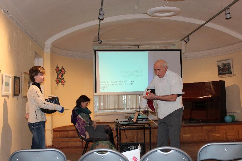 Кандат Кирилл, заслуженный тренер по фехтованию, руководитель Школы фехтования. Лекция «Восемнадцатый верблюд»