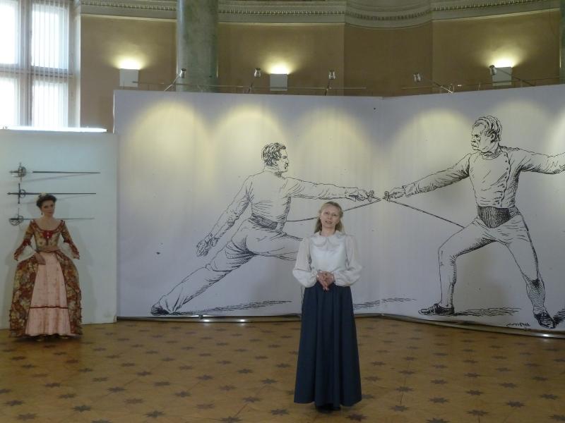 Алина Тулякова (Алонсо) -вступительное слово председателя СПбФК на открытии