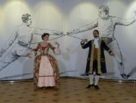 Дни Фехтовальной культуры 2014. Ансамбль танцев эпохи барокко