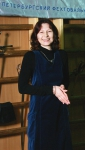 Святочный вечер в СПбФК 2010. Алина Тулякова, председатель СПбФК: