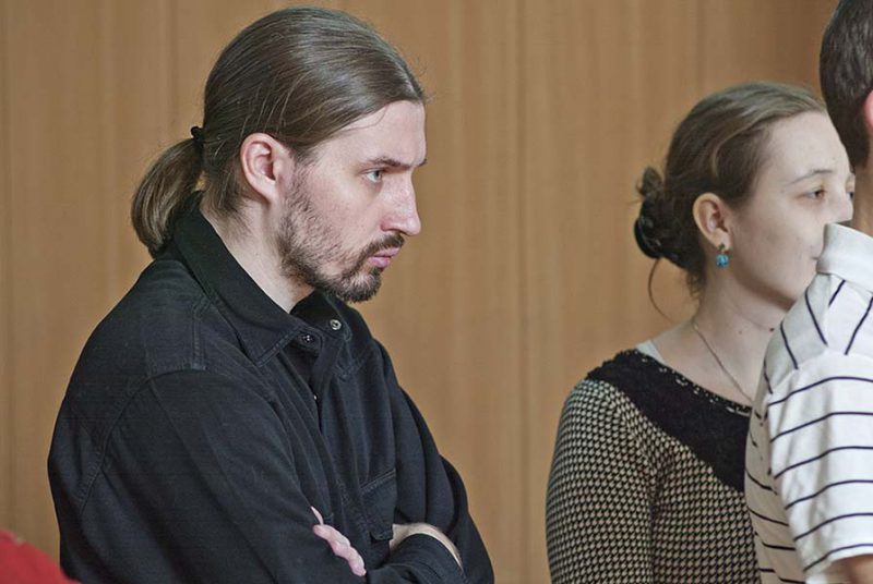 Михаил Федотов и Ирина Мельникова, руководители сообщества саберфайтеров Скиурус