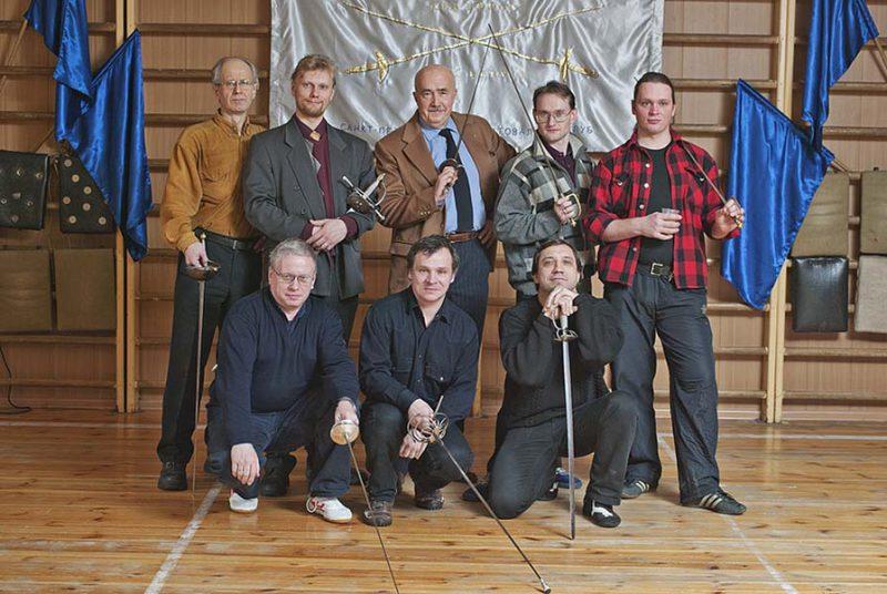 Святочный вечер фехтовальщиков в СПбФК 2011. Фото: Виталий Фёдоров