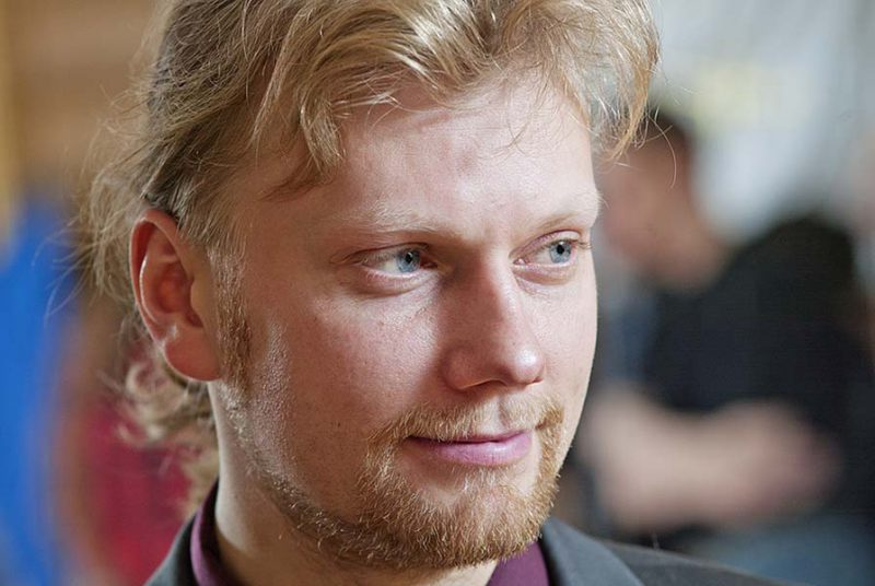 Артем Шабанов, руководитель студии историко-сценического фехтования Силуэт