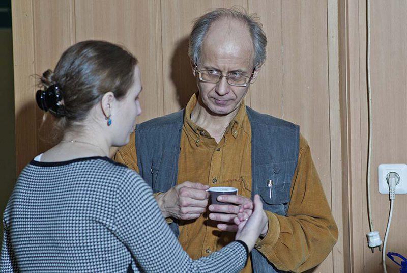 Эдуард Якубов и Ирина Мельникова