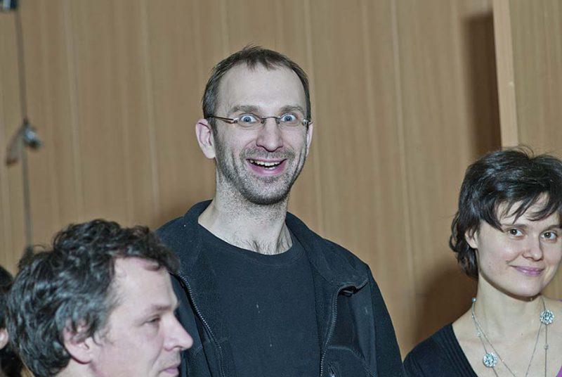 Актер Георгий Кобиашвили, член Совета СПбФК