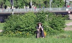 Постоянный зритель праздника Елена Емельянова