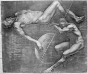 Слиж Евгений. Рисунок. 2010. Бумага, сангина, 141х166
