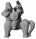 Широков Андрей. Симбиоз.1998.Терракота, 32 х 27 х 24