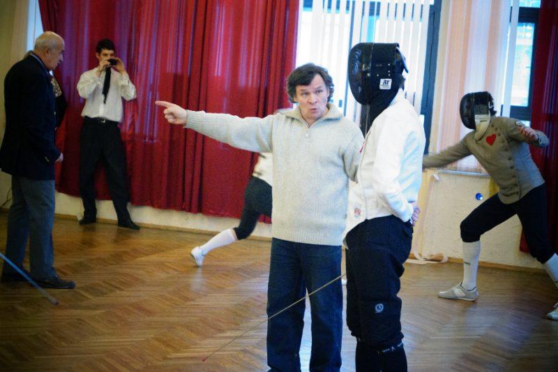 Разбор фразы - судья Руслан Каприлов, руководитель клуба европейского исторического фехтования ПАРАД-РИПОСТ