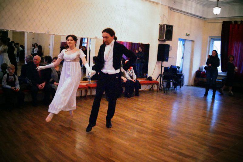 Ирина Мышланова и Алексей Веретенников, Пушкинская студия старинных танцев