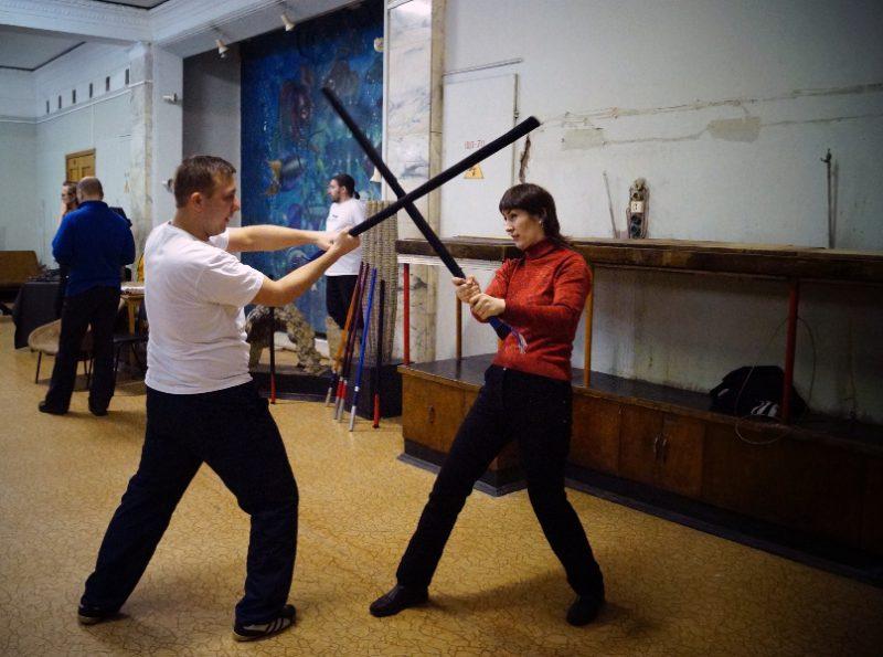 Творческая группа «Скиурус». Фехтование на безопасном оружии для всех желающих