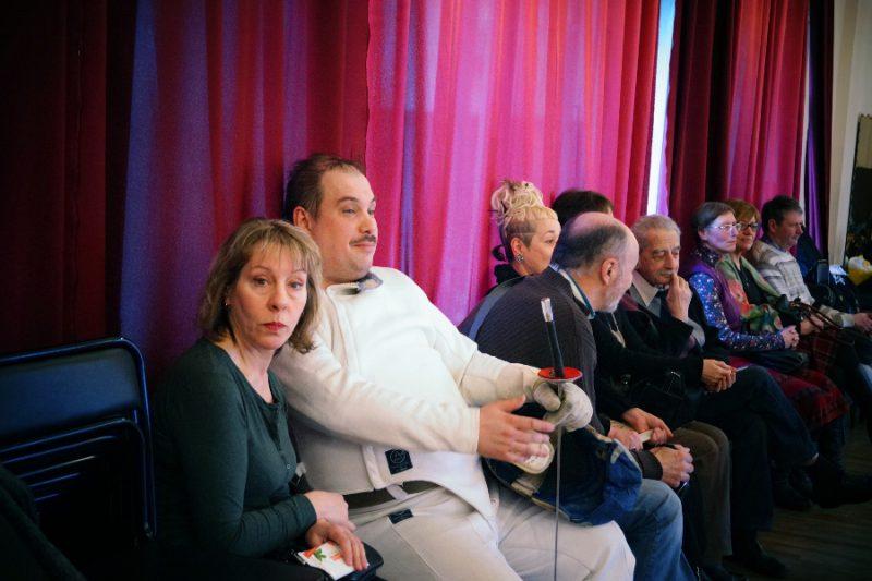 Фехтовальщик Александр Герасимов среди гостей Ассамблеи Гранд Ассо 2015