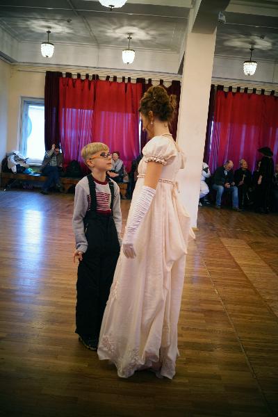 Варвара Лачек, Пушкинская студия старинного танца
