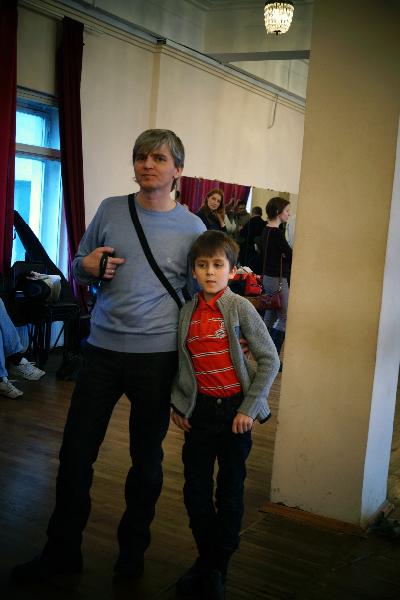 Анатолий Нагирняк с сыном