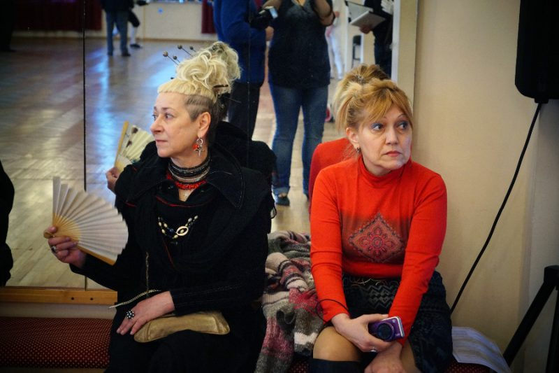 Гости Ассамблеи - слева Елена Емельянова (Теткина)