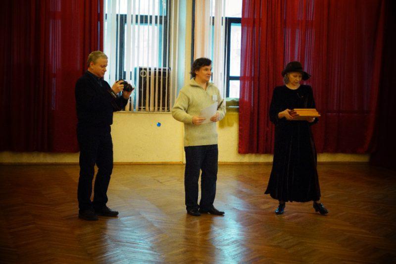 Михаил Шеремет, Руслан Каприлов и Алина Тулякова награждают участников призовых поединков Гранд Ассо 2015