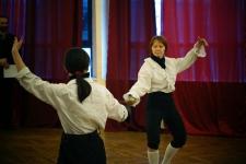 Большой рапирный салют демонстрируют Галина Рубцова и Наталья Кулябина, СЕИСФ СИЛУЭТ
