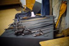 Выставка копий старинного оружия студии СИЛУЭТ