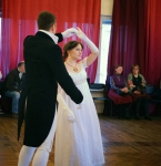 Ирина Мышланова и Максим Лачек, Пушкинская студия старинного танца