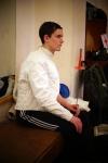 Глеб Григорьев, начал заниматься фехтованием в СПб Фехтовальном Клубе в этом году.