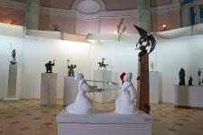 Благодарность за создание экспозиции скульпторам Борису Петрову, Андрею Широкову и Леониду Колибабе со студентамиАндрею