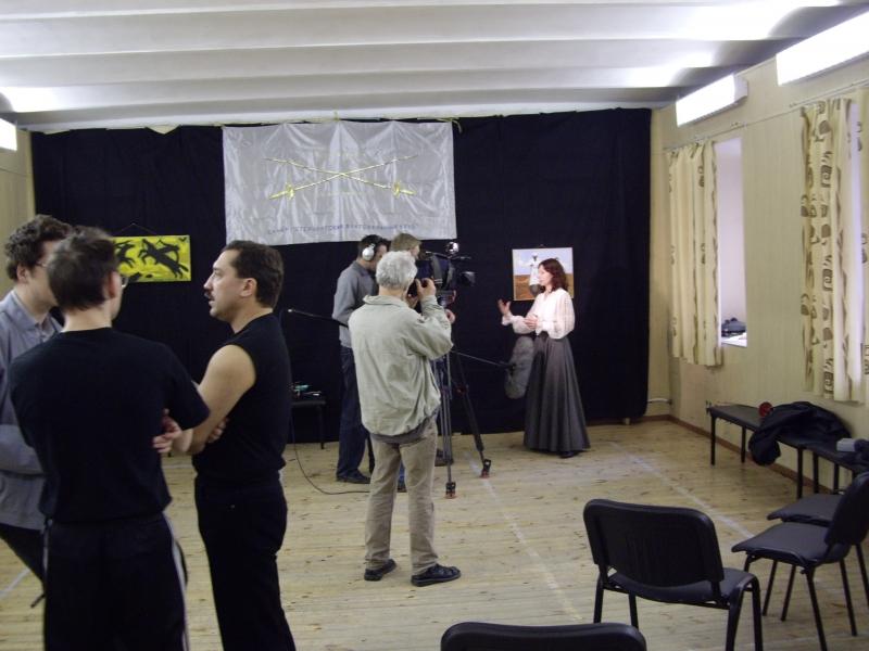 Интервью и фотографии на память о событии