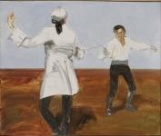 Шинкарев Владимир. Неравный бой (Cкарамуш). Х.,м. 2008