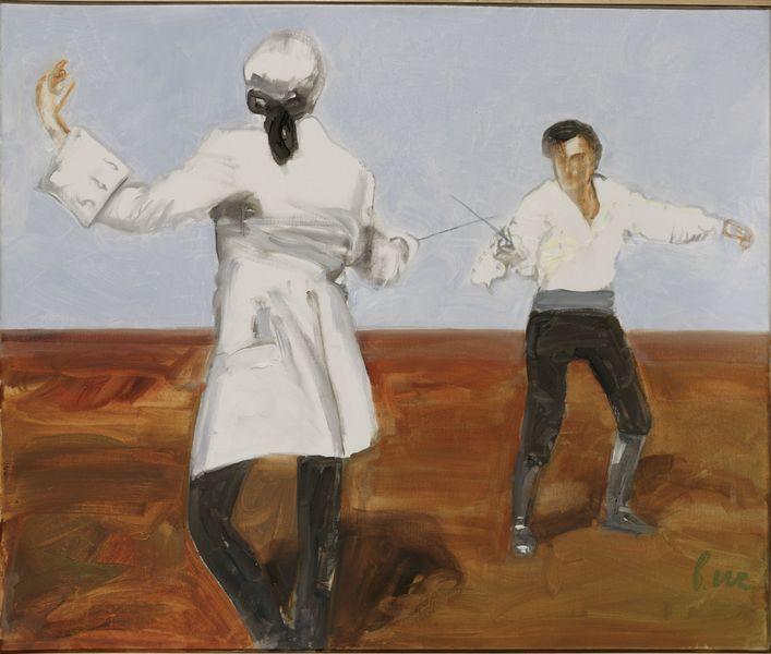 Презентация художественных выставок «Фехтование вискусстве» 2008