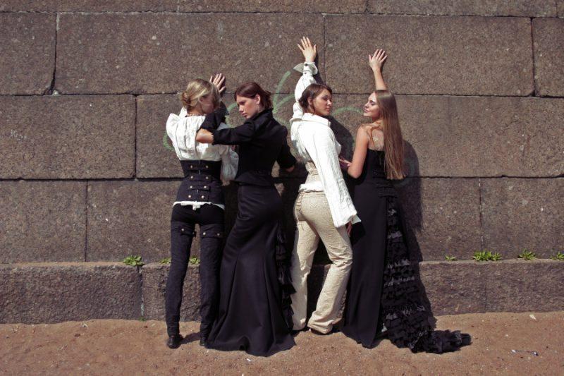 День Фехтовальщика 2007 Модельер Полина Раудсон. Коллекция