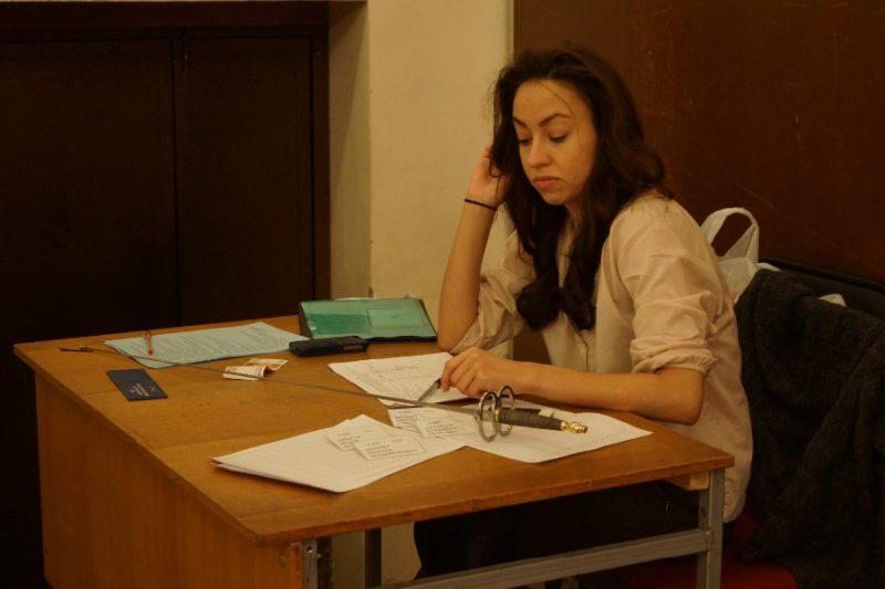 Валерия Миронова, дизайнер одежды, судья-протоколист на турнире Гранд Ассо 2015