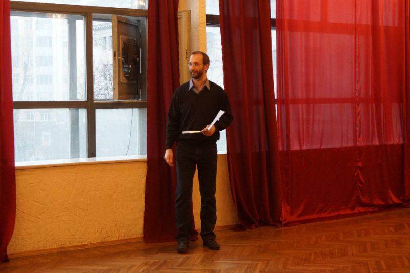 Георгий Кобиашвили, актер и кинорежиссер, ведущий праздника Ассамблея Гранд Ассо 2015