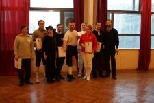 Участники призовых поединков награждены грамотами
