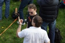 Федоров Михаил и Александр Ульянов, руководители студии арт-фехтования