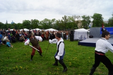 Финальный бой всех участников праздника День Фехтовальщика