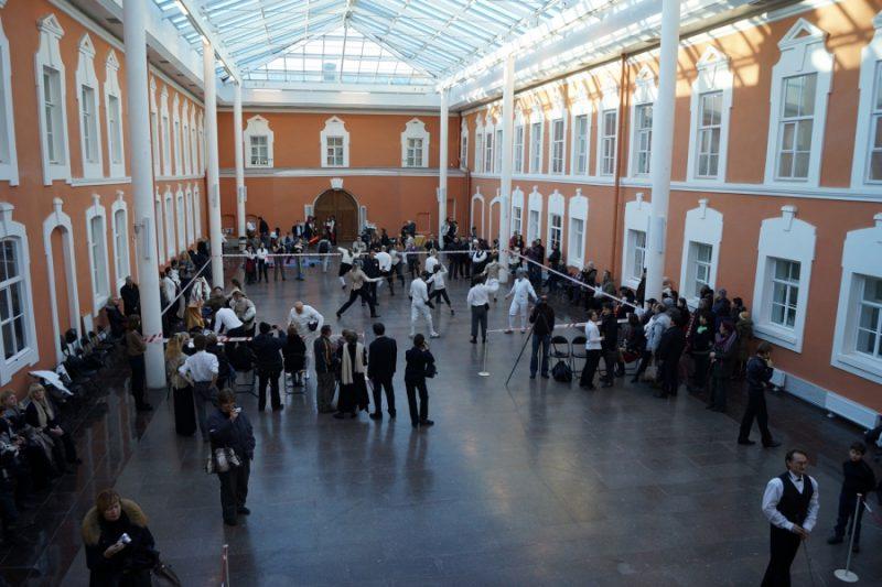 Гранд Ассо в Атриум Комендантского дома Петропавловской крепости. Фото: Михаил Шеремет