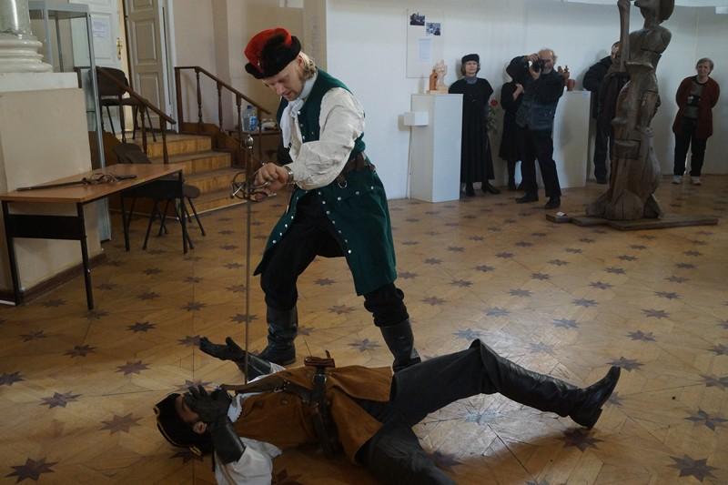 Студия историко-сценического фехтования Силуэт
