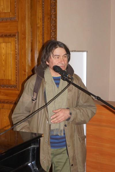 Леонид Колибаба, преподаватель кафедры скульптуры СПГХПА им.Штиглица