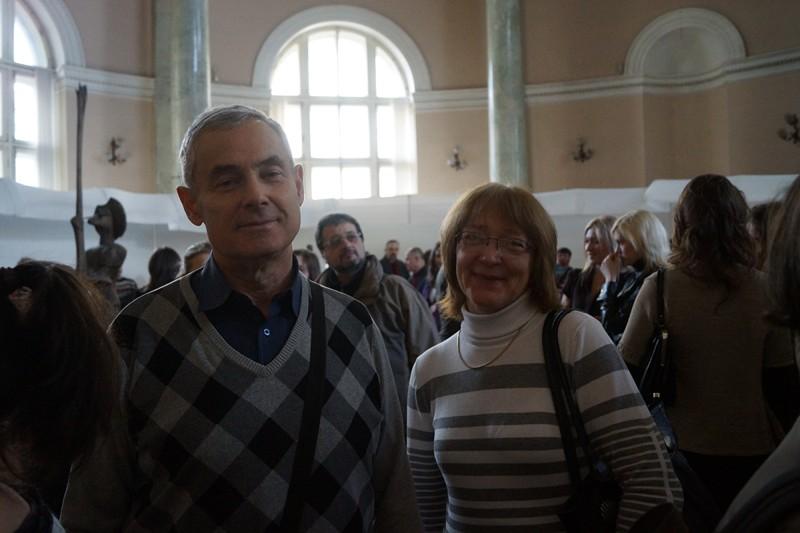 Единомышленники СПбФК инженеры Михаил и Елена