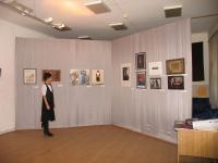 Общий вид выставки в Музее Академии Изящных Искусств