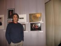 Архипецкий Сергей возле своей работы