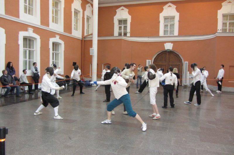 В Гранд Ассо 2012 принимали участие 25 фехтовальщиков Фото: Станислав Коган