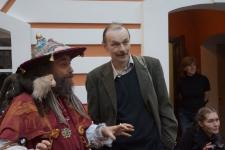 27.Художники Кирилл Миллер (Шарманщик) и Владимир Шинкареёв (автор