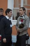 64 Дмитрий Тейбер-Лебедев, режиссер, и Игорь Андреев. Комитет Гранд Ассо в Петербурге