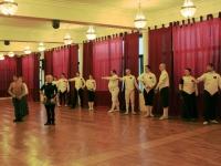 2.Начало Гранд Ассо 2013. Участники приветствуют зрителей - Малый салют XIX века.